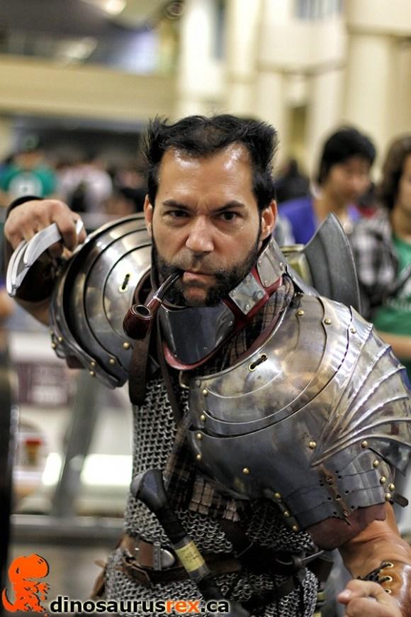 medieval wolverine cosplay