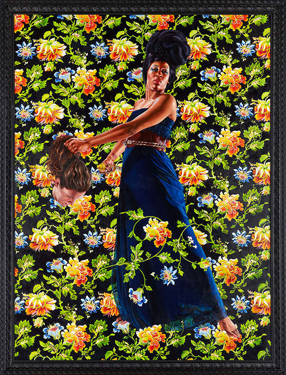 KEHINDE WILEY Judith and Holofernes, 2012