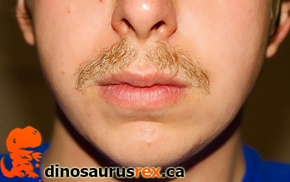 Karl-dinosaurus-rex-day-27-week-4-movemeber-2012-moustache-mustache-copy