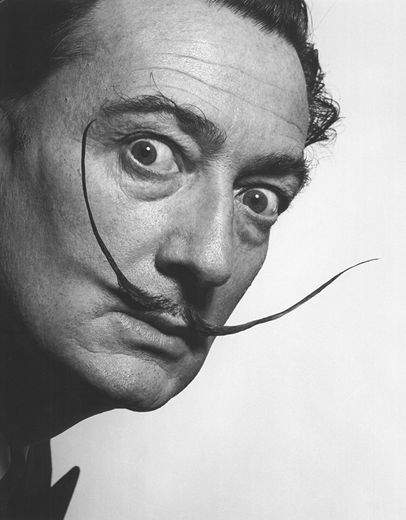 phillipe-halsman-moustach-mustache-portrait-of-salvador-dali-1954