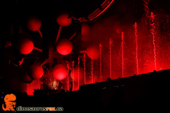 Sensation Canada 2013 - Water Fountains