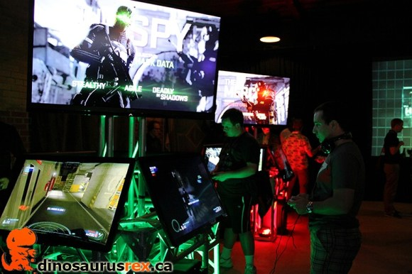 Ubisoft Splinter Cell Launch Party