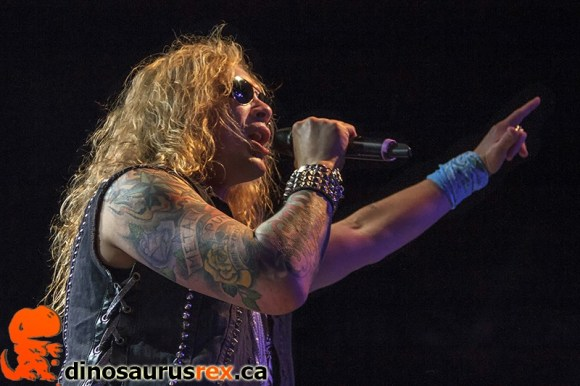 Michael Starr - Steel Panther - Sound Academy - 2013