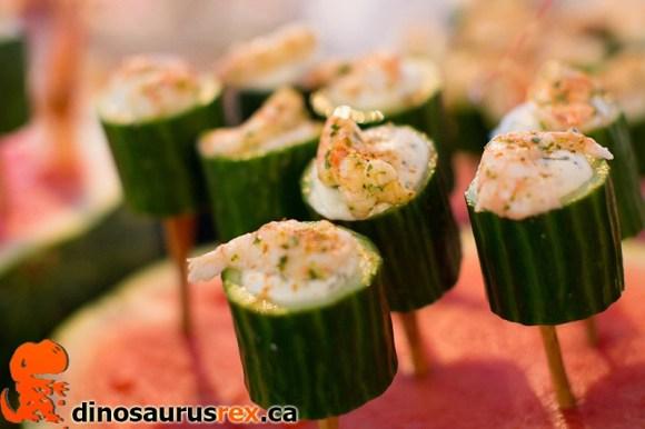 Toronto Taste 2013 - Cucumber Shrimp
