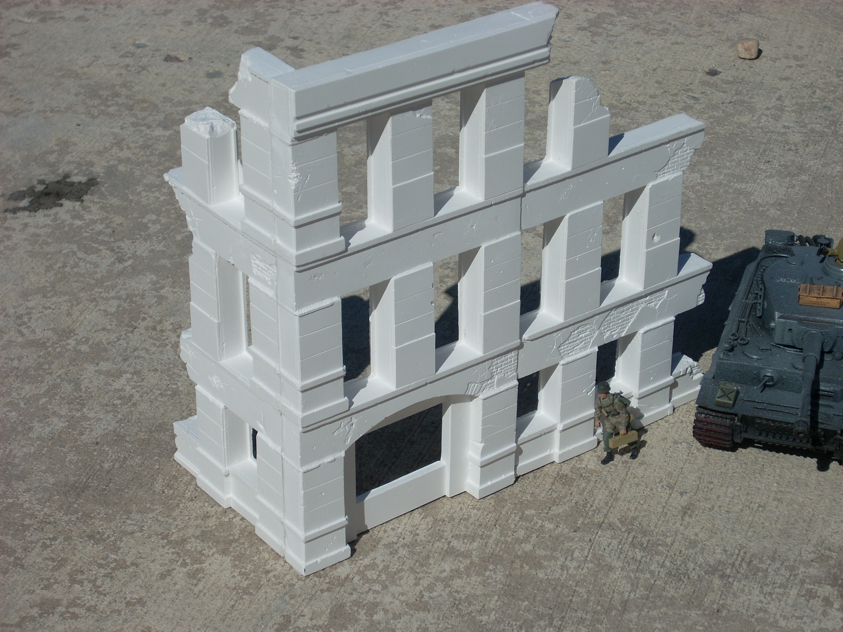 Plaster Building Dioramas Plus Blog Archive How To Assemble And Paint Hydrocal