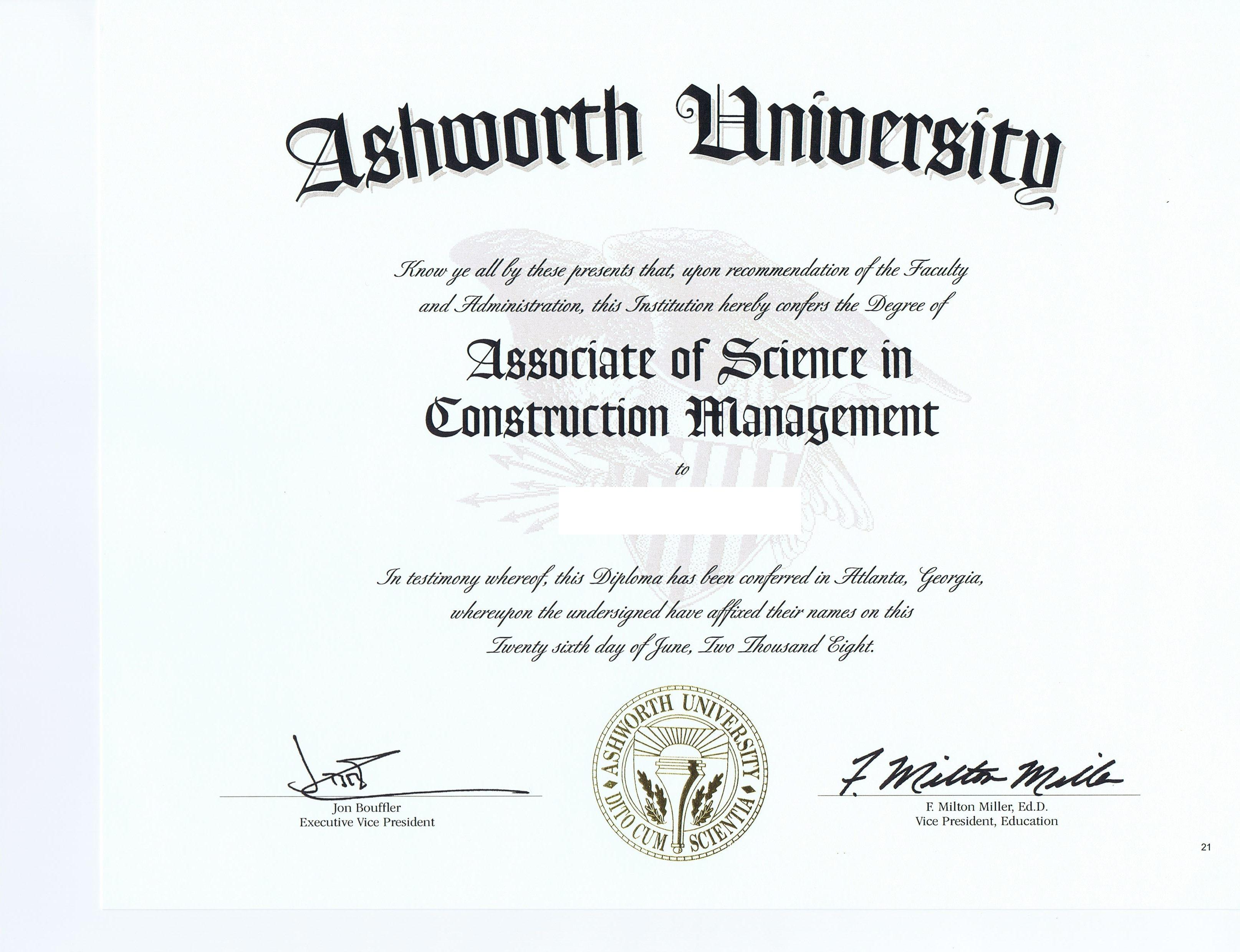 Construction Management Ba Degree Construction Management Degree