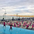 at Dipolog boulevard taebo exercise