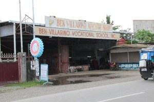 Ben Villarino Vocational School, Machine Shop