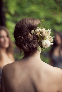 2014 Spring  Summer Wedding Hair Ideas 7  Dipped In Lace