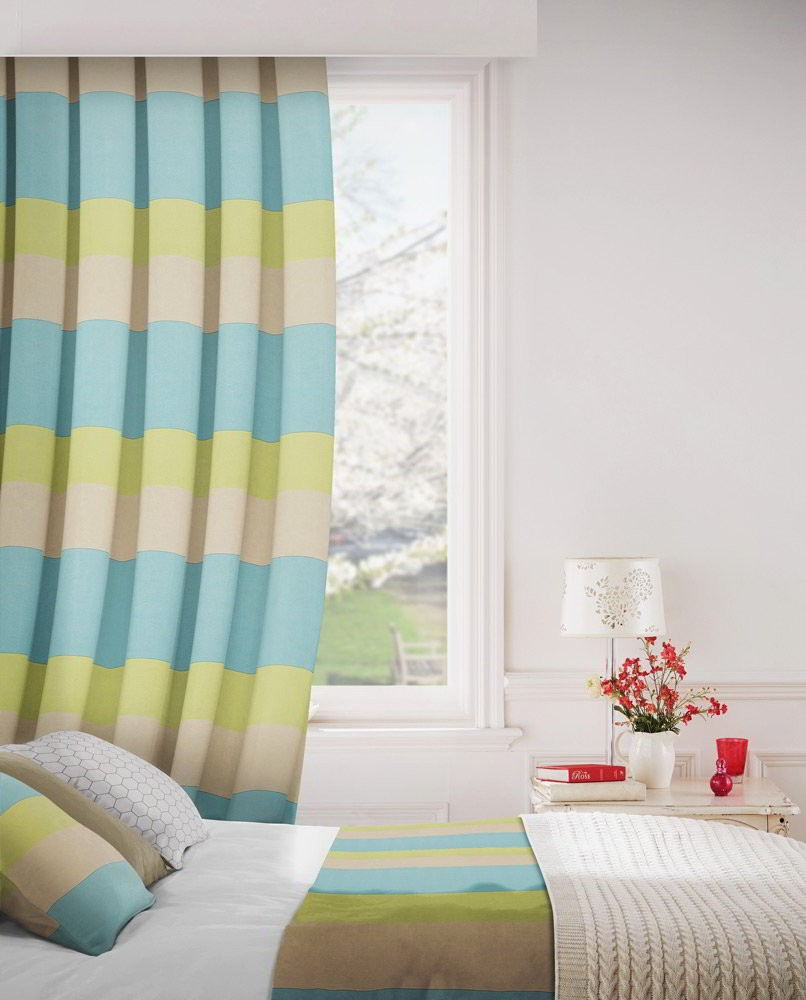 Lemon Green Curtains Escape 303 Lemon Fire Resistant Curtains Direct Fabrics