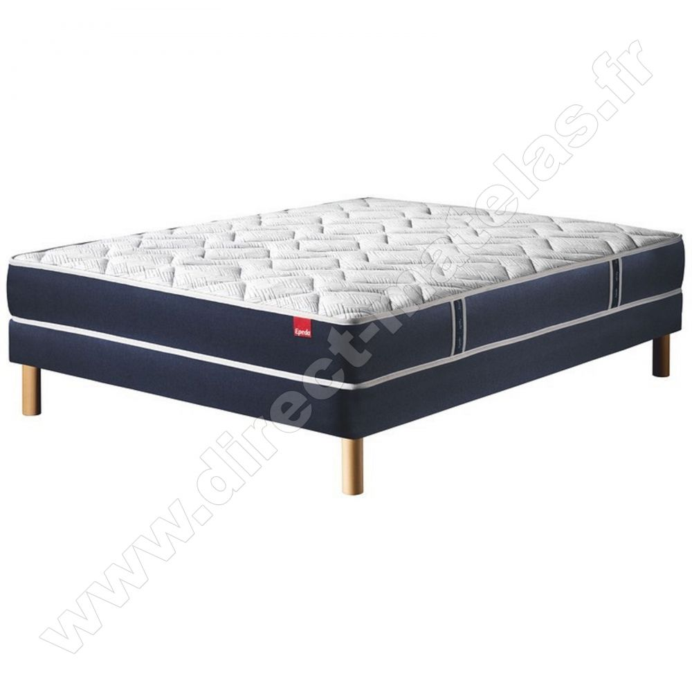 Matelas Epeda 160x200 Pack 140x190 Matelas Epeda Multispires Multizones 140x190 Sommier Epeda Ouatine Ferme Pieds De Lit Cylindriques