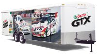 Trailer graphics custom decals vinyl lettering trailer