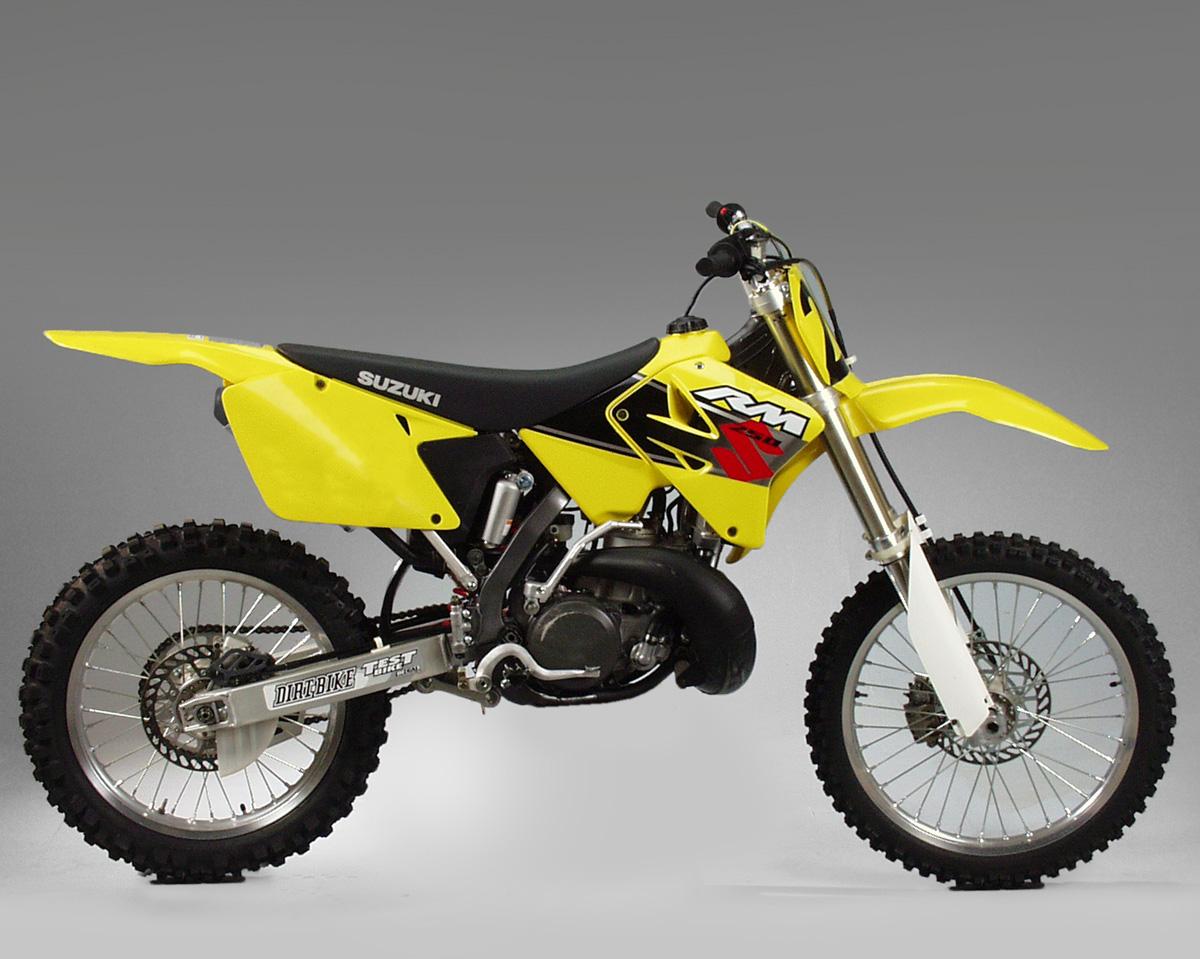 suzuki 250 dirt bike