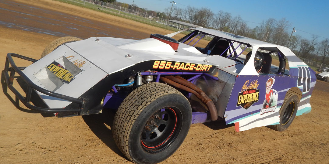 Drive a Dirt Car at Oklahoma Sports Park October 16th for only $89!