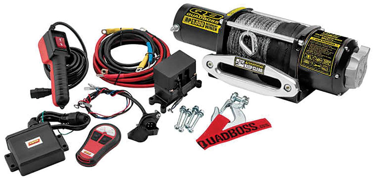 ATV  UTV Winch Buyer\u0027s Guide! Dirt Wheels Magazine