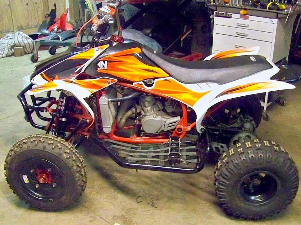 PROJECT ATV Honda TRX85R Hybrid Build Dirt Wheels Magazine