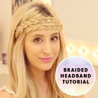 Braided Headband Hair Tutorial | Hair Extensions Blog ...