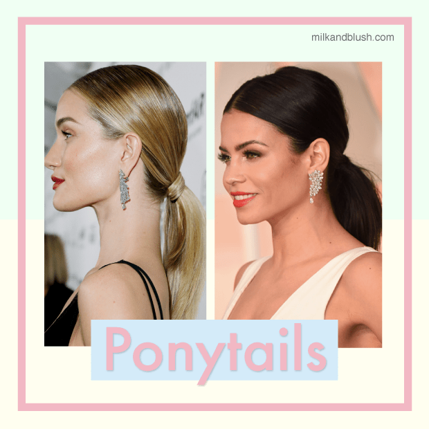 How-To-Stye-Out-Your-Lob-Short-Hair-In-Ponytails