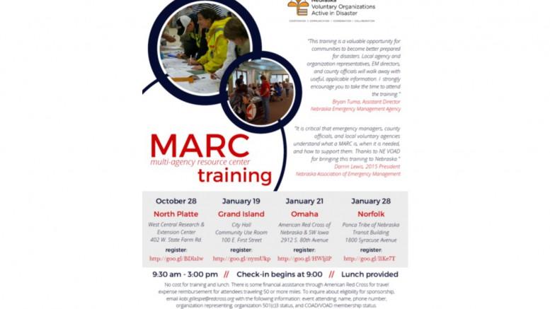 MARC Training Opportunities \u2013 Legal Aid of Nebraska Disaster