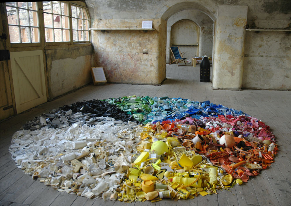 John Dahlsen - Environmental art, recycled art and abstract - new 13 artist statement examples