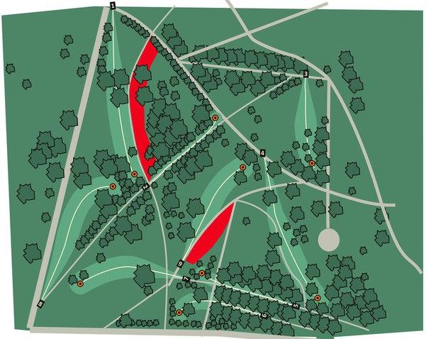 Карта отрезков