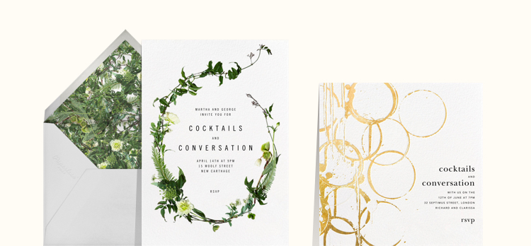 Online invitations, cards and flyers - Paperless Post