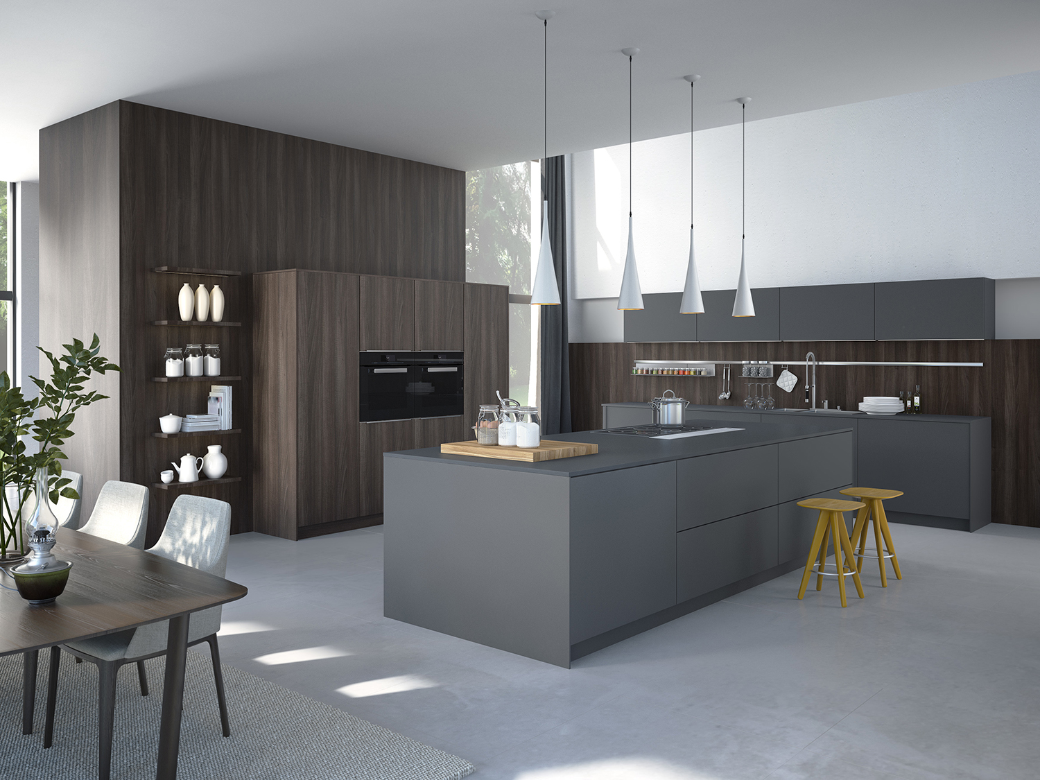 Grey Benchtop Kitchen Grey Kitchens Are A Growing Trend Ross S Discount Home Centre