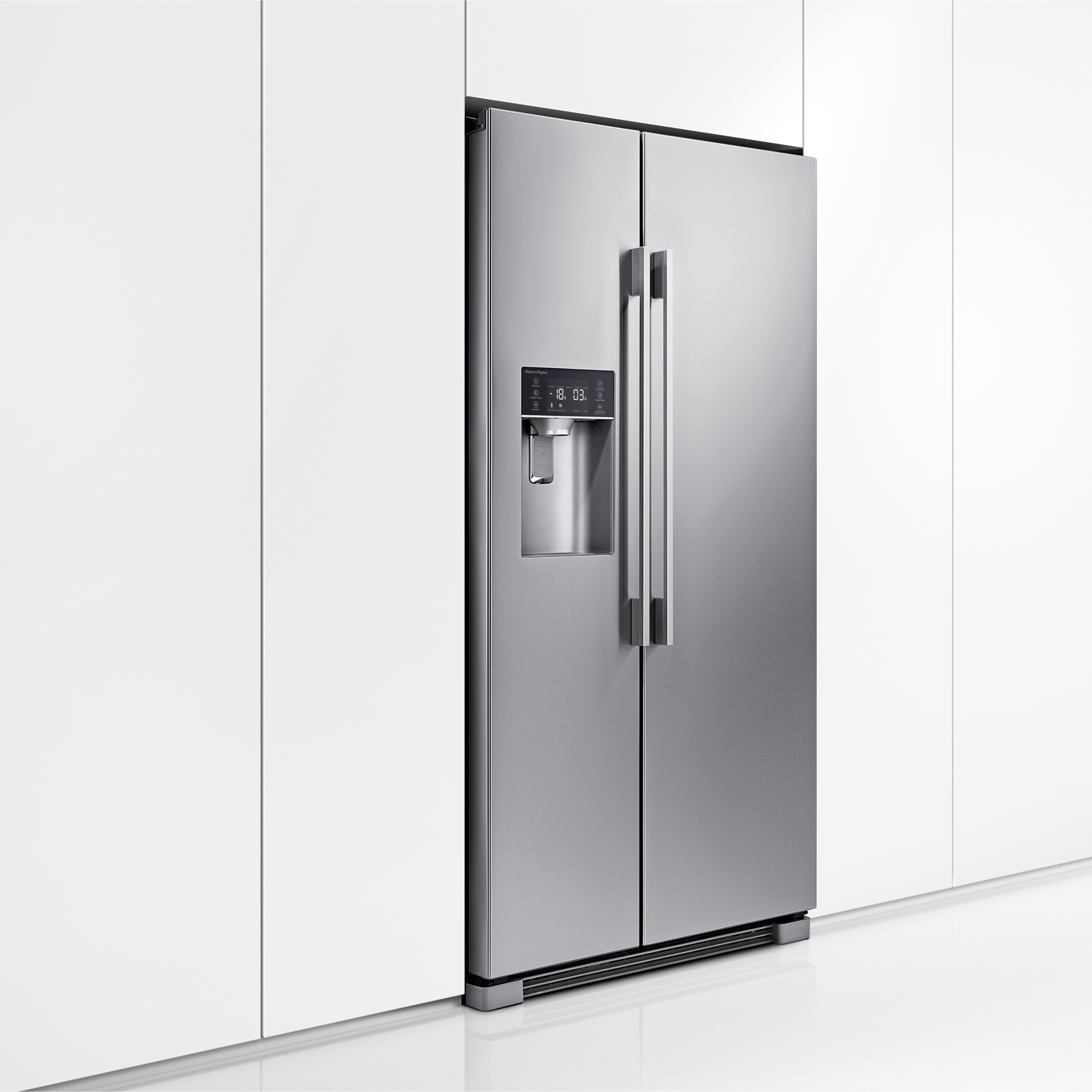 Side By Side Fridge Fisher And Paykel Rx611dux1 Side By Side Fridge Freezer With