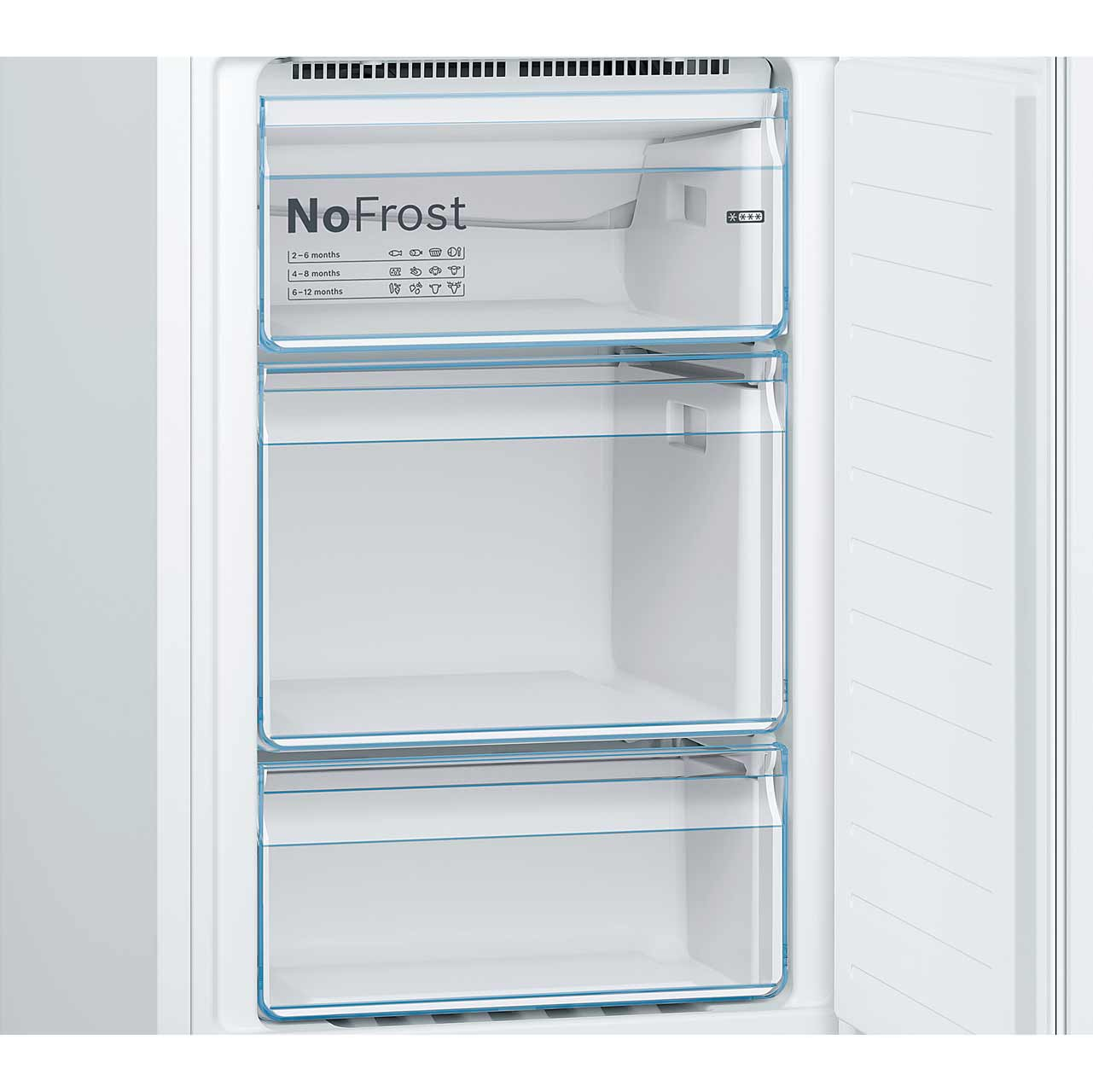 No Frost Bosch Kgn34nw3ag No Frost Fridge Freezer