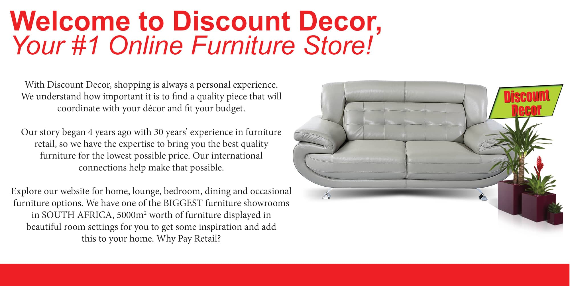 Discount Decor Cheap Mattresses Affordable Lounge Suites Shop Online