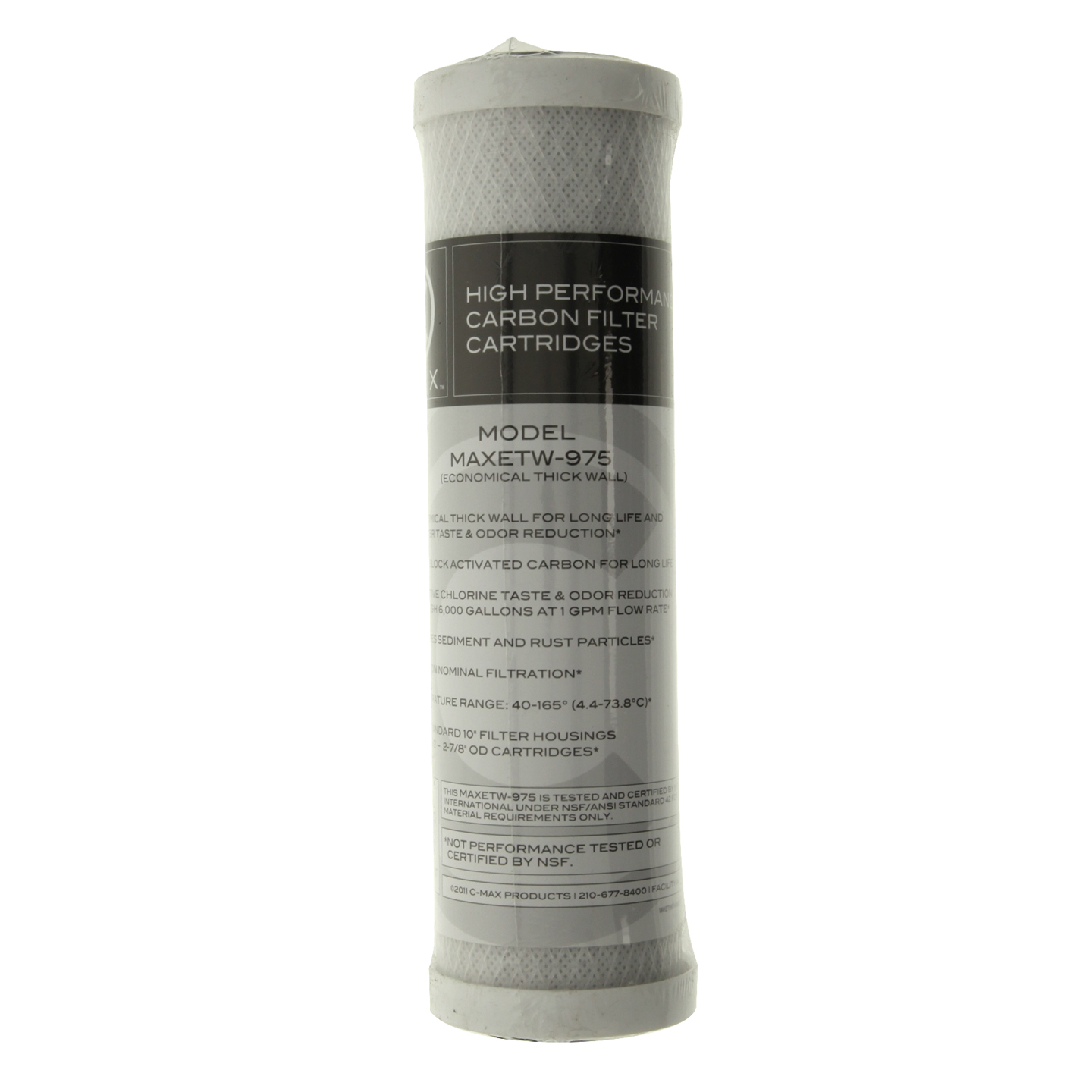 Watts Water Filter Replacement Watts Maxetw 975 C Max 5 Micron Replacement Water Filter