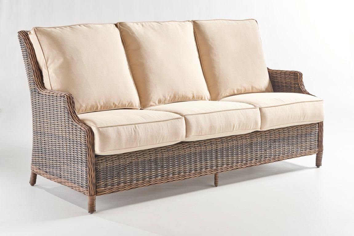Outdoor Sofa Rattan South Sea Rattan Barrington Outdoor Sofa In Chestnut 77703