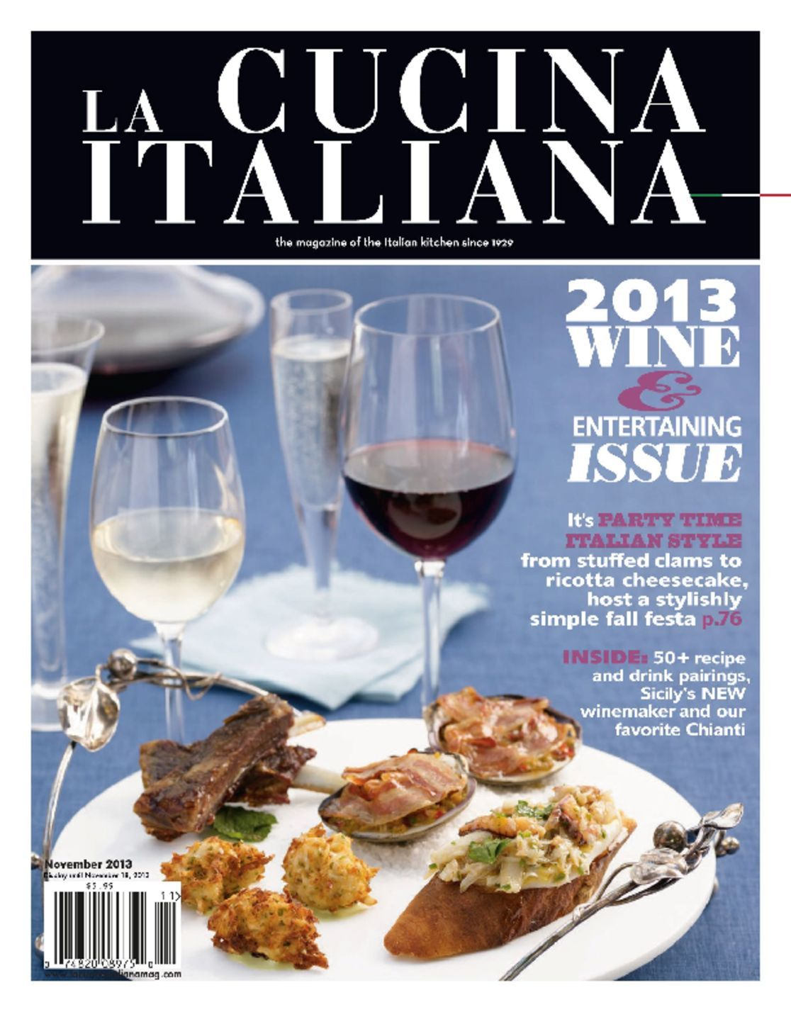 The Magazine Of La Cucina Italiana La Cucina Italiana Magazine