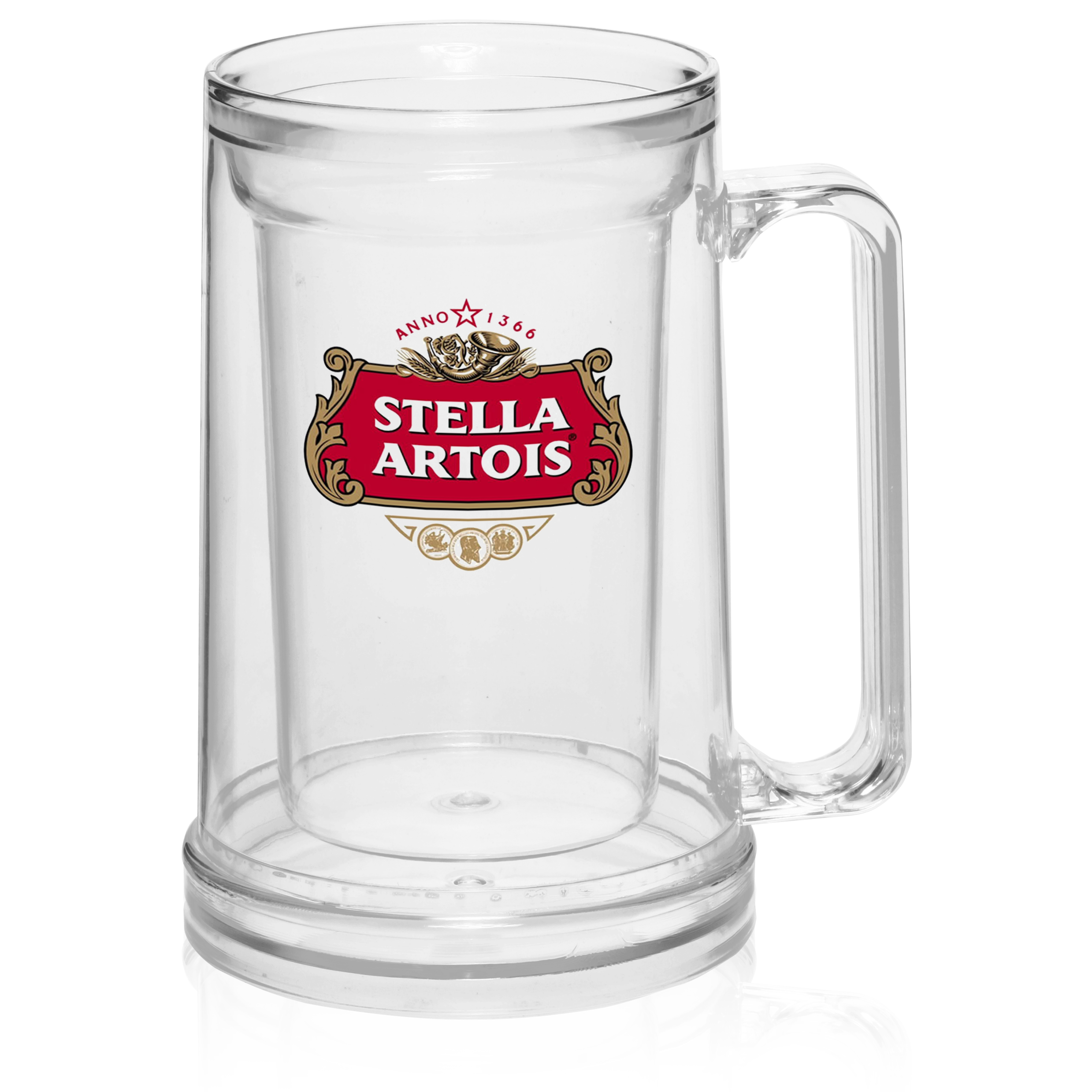 Inexpensive Mugs Custom 16 Oz Acrylic Double Wall Custom Beer Mugs