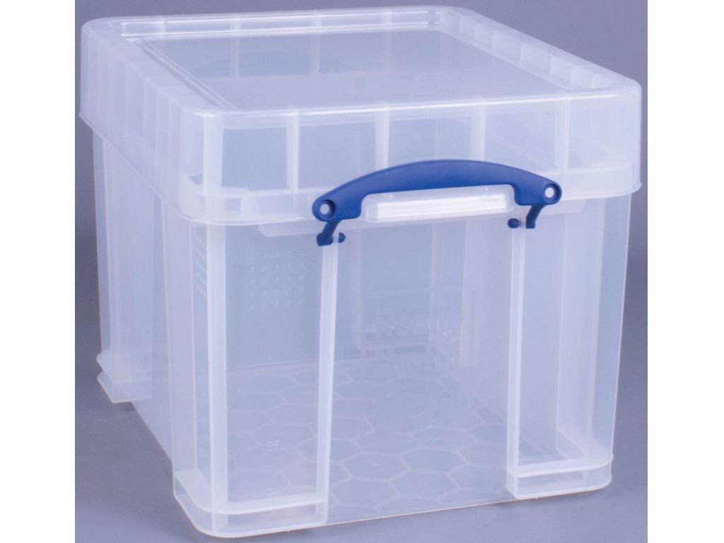 Opbergbox 120 Liter Really Useful Boxes Opbergbox Transparant 35 Liter Xl