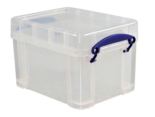 Opbergbox Transparant Really Useful Boxes Opbergdoos 3 Liter Transparant Cd/dvd