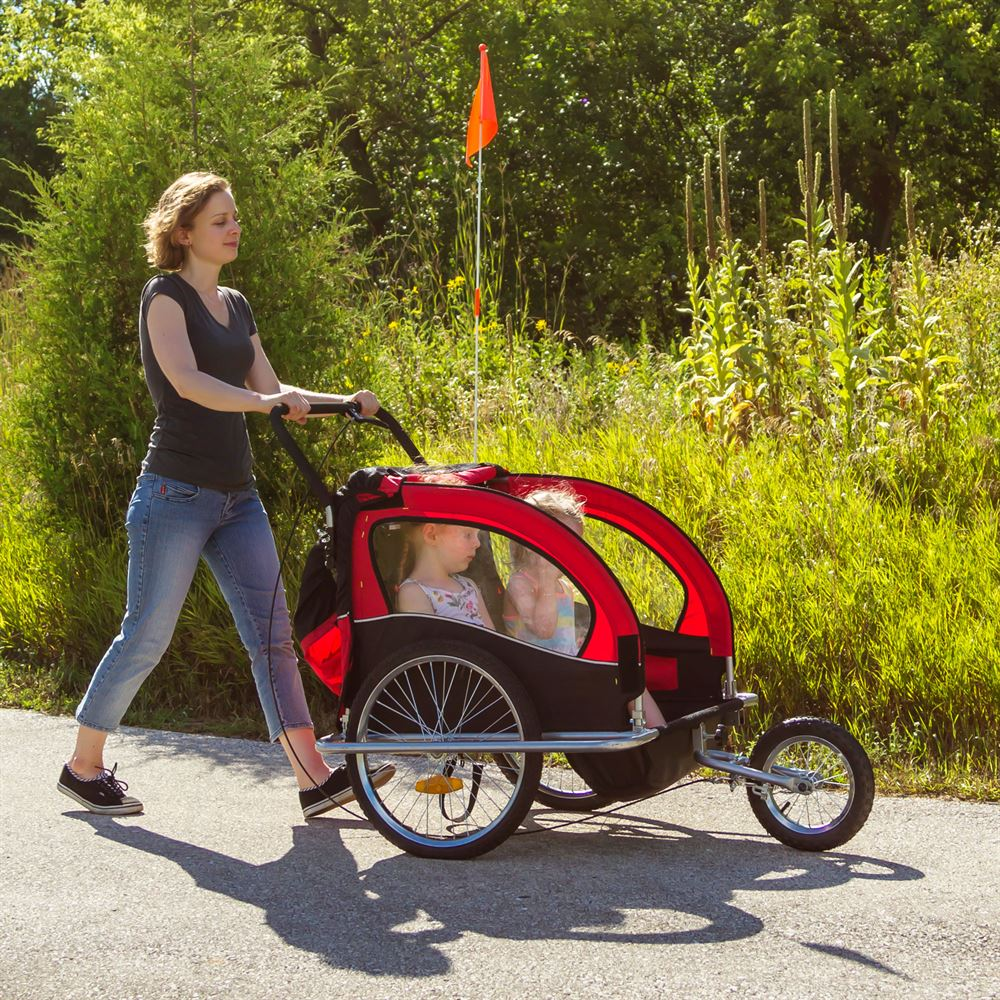 Jogger Buggy Reviews Apex Double Stroller And Bike Trailer Discount Ramps