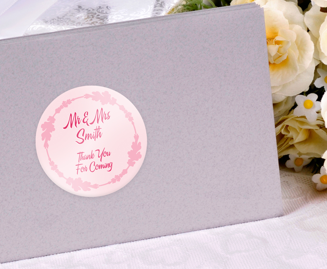 Personalised Sticker Personalised Wedding Stickers Custom Printed Buy Online Today Uk