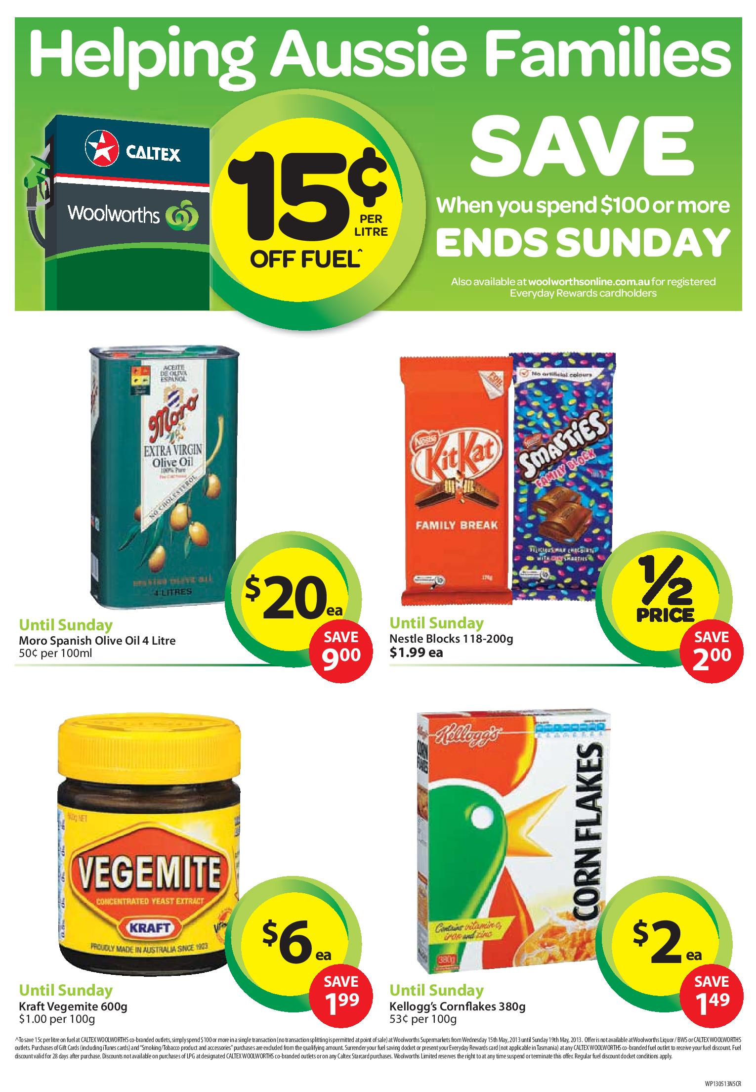 Australian Online Catalogues Woolworths Catalogue Page 2 Of 2