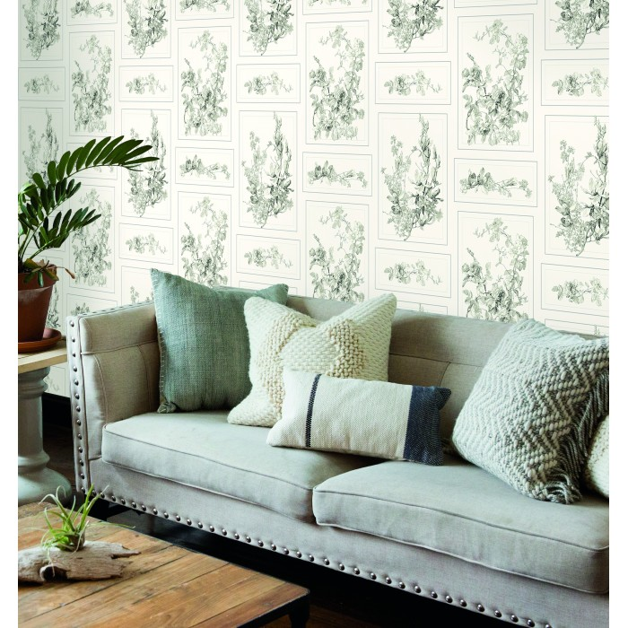 Removable Wallpaper Murals Mh1543 - Magnolia Home The Magnolia Removable Wallpaper