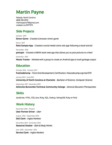 Help with Resume/Cover letter/Portfolio/Applying to jobs - Project