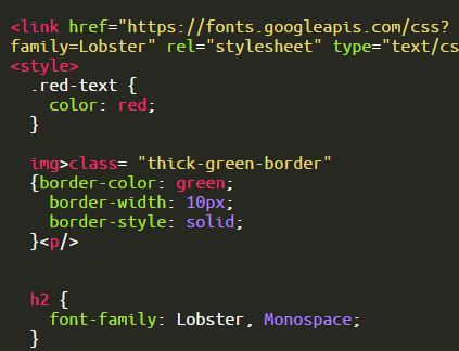 Border Color,Width and Style - The freeCodeCamp Forum - solid green border