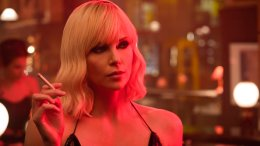 "This image released by Focus Features shows Charlize Theron in ""Atomic Blonde."" (AP)"