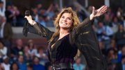 This Aug. 28, 2017, file photo shows Shania Twain performing at the opening night ceremony of the 2017 U.S. Open Tennis Championships in New York. (AP)