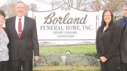 Borland Funeral Home current owners, Greg and Kim Borland (left) will be working with new owners Kylee and Chris Ensminger to make a smooth transition of ownership when the Borlands retire at the end of this year. (Submitted photo)