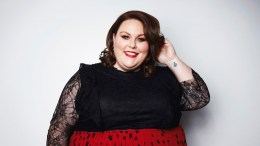 """In this March 26, 2018 photo, actress Chrissy Metz, from the NBC series, """"This Is Us,"""" poses for a portrait in New York to promote her memoir, """"This Is Me."""" (AP)"""