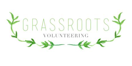 grassroots volunteering logo