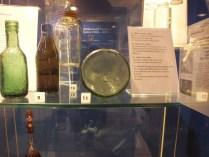 Decorative glass on display