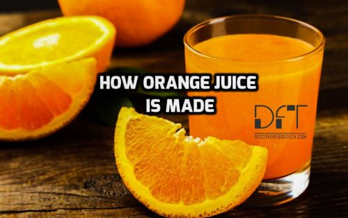 How To Make Orange Juice Production Process With Flow Chart