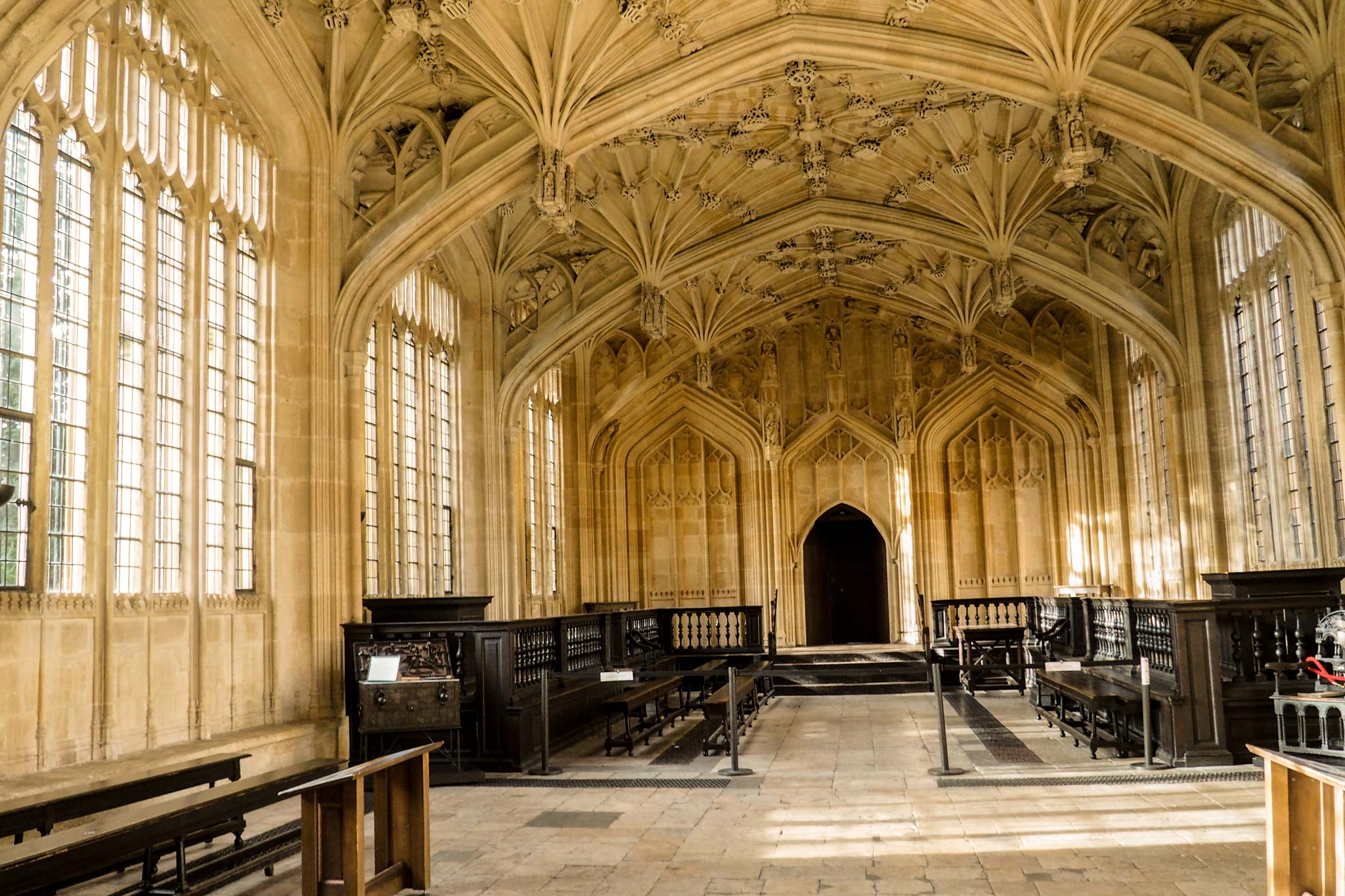Bodleian Library The Divinity School Things To See And Do In Oxford